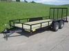 "16ft x 76"" utility trailer, remolque, atv trailer, 7 000 lbs"