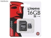 16gb Micro-sd-Karte, Kingston Marke mit Adapter. -