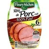 180G 6 tranches roti de porc filet fleury michon
