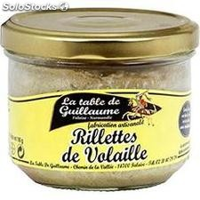 190G rillettes volaille table de guillaume