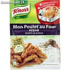 19G kit cuisson poulet kebab knorr