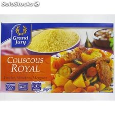 1KG couscous royal grand jury
