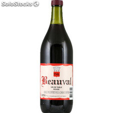 1L vin de table mvdpce rouge beauval 11%