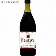 1L vin de table rouge beauval 12°