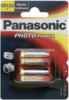 1x2 Panasonic Photo CR 123 A