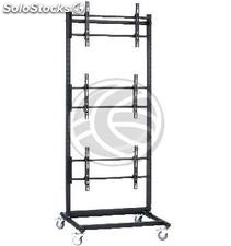 """1x3 TV Stand for screens 60 \"""" (OU36)"""