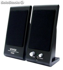 2.0ch mini pc altavoces multimedia speakers cmk1020