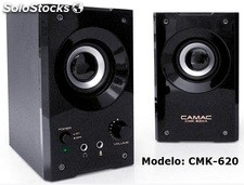 2.0ch mini pc altavoces multimedia speakers cmk620a