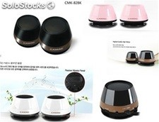 2.0ch mini pc altavoces multimedia speakers cmk828k