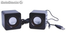 2.0ch multimedia altavoces pc speaker hh003b