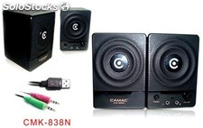 2.0ch portatil pc altavoces multimedia speakers cmk838