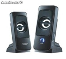 2.0ch portatil pc altavoces multimedia speakers cmk868c