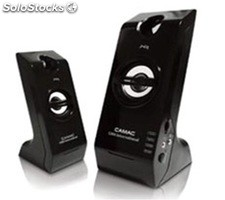 2.0ch portatil pc altavoces multimedia speakers cmkx9