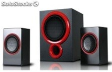 2.1ch usb sd mmc altavoces multimedia rms 25w+10w*2