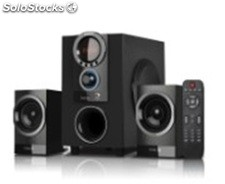 2.1ch usb sd mmc altavoces multimedia s2205 rms20w+10w*2
