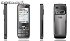 2.2 inch cell phone E71 MTK6252 GSM 4bands dual-sim FM BT camera