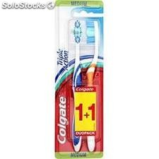 2 brosses a dents medium triple action colgate