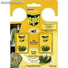 2 gel anti mites cedre raid