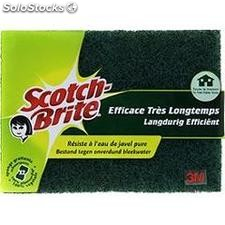 2 grattantes lavantes sur eponge res/javel scotch brite