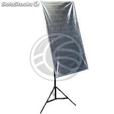 2 in 1 Reflector Panel 120x60cm rectangular rods (ER44)