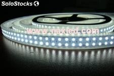 2 lines 3528 smd flexible led lighting strips, 240LEDs/m, ip65 silicon sleeve