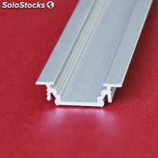 2 m profil led alu groove for led strips made by topmet