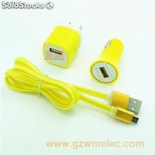 2 port car charger for mobile phone