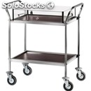 2-shelf catering trolley - mod. ca1321 - for desserts and starter dishes -