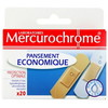 20 pansements economique mercurochrome