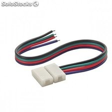 20 x connettore di testa striscia a led rgb 4 poli connector rgb 10-cp