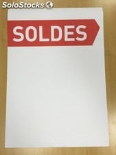 200 affiches A4 soldes