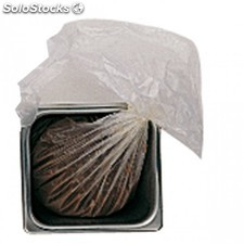 200 u. Sachets stockage/transport aliments 46x76,5 cm transparent pehd
