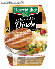200G 2 steak hache volaille fleury michon