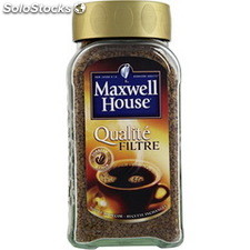 200G cafe soluble qualite filtre maxwell