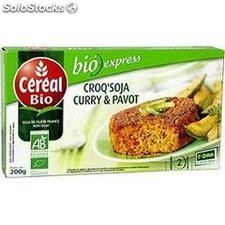 200G croqu'soja curry pavot cereal bio