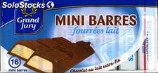 200G mini barre chocolat au lait grand jury
