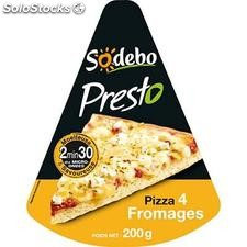 200G pizza presto 4 fromages sodebo