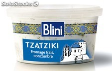 200G tzatziki nature blini