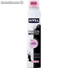 200ML atomiseur deodorant black&white clear nivea