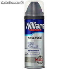 200ML mousse a raser peaux fragiles williams