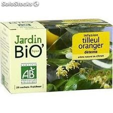 20ST infusion tilleul/orange/citron bio jardin bio