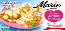 20X50G crepes jambon/fromage marie