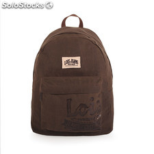 21636 mochila lona com laptop bag 15 Kaki