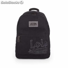 21636 mochila lona com laptop bag 15 Preto