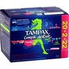 22 tampons compak freshness super tampax