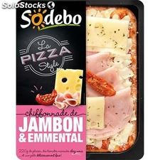 220G pizza style jambon emmental sodebo