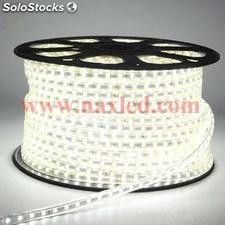 220v Flexible led Leiste 5050 smd, 100m/roll - kaltweiss