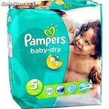 23 changes baby dry pqt T5 pampers