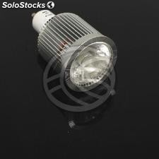 230VAC GU10 led Bulb 8W dichroic 60 ° 50mm daylight (NC65)