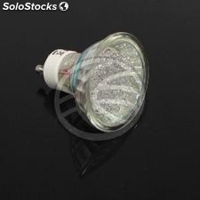 230VAC led Bulb 1.5W GU10 dichroic 15 ° 50mm red light (NC34)